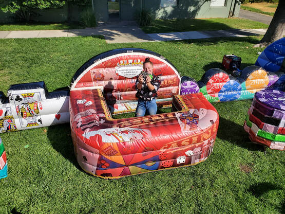 MEGA CASINO INFLATABLE POP-UP BUSINESS