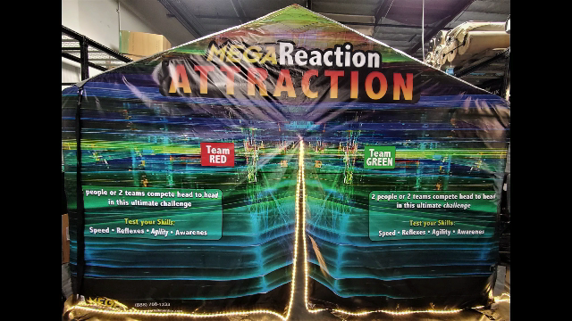 Inflatable Escape Room Packages - MEGA Reaction Attraction